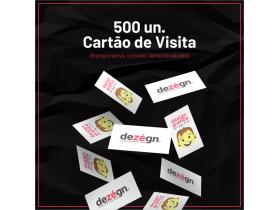 Cartão de Visita: Arte+500un
