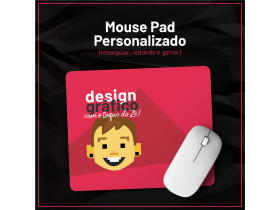 Mouse Pad Personalizado - Redondo