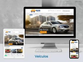 Site de Veículos
