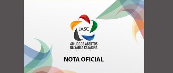 Jogos Abertos de Santa Catarina de 2020 estão cancelados