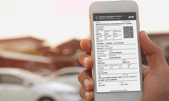 Documento de propriedade de veículos também passa a ser digital no País