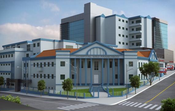 HSF é um dos hospitais de SC beneficiados com os kits intubação