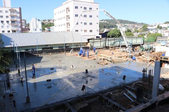 Obras da nova escola Maria Melânia Siqueira estão 20% executadas