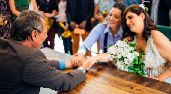 Casamentos de pessoas do mesmo sexo têm aumento expressivo
