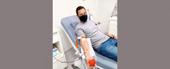 Copérdia adere à campanha de doação de sangue