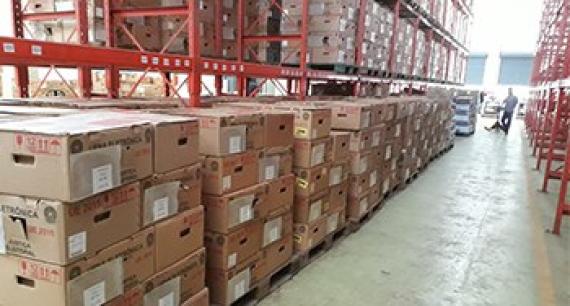TRE-SC inicia distribuição das urnas eletrônicas para as Eleições 2020
