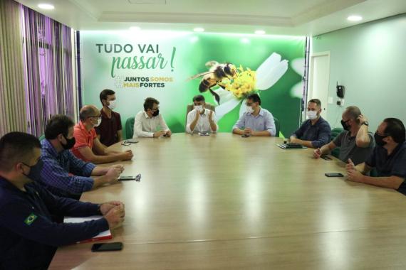Prefeitura discute ampliar espaço do Calçadão de Concórdia