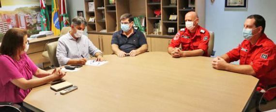 Prefeitura repassa R$ 1,4 milhão para os Bombeiros Voluntários de Concórdia