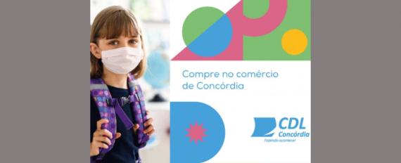 CDL Concórdia promove campanha de Volta às Aulas no comércio