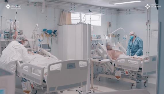 Novo hospital - colegas positivados e pacientes graves: um relato sobre a covid-19 no HSF