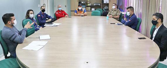 Força-tarefa intensificará fiscalização para conter aglomerações no feriado de Páscoa em Concórdia