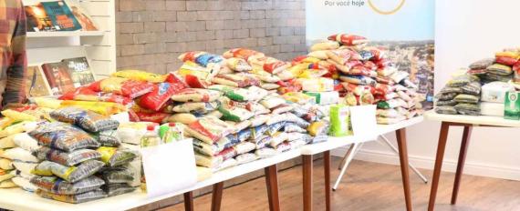 Prefeitura e entidades farão arrecadação de alimentos durante ações de vacinação em Concórdia